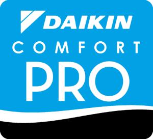 The Daikin Comfort Pro Logo