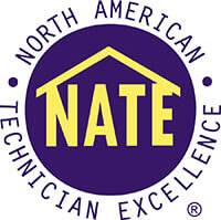 The NATE logo