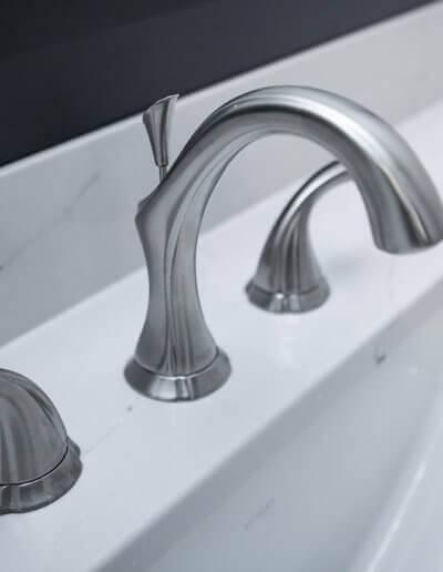 A new faucet fixture.