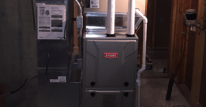 A photo of a Bryant furnace.