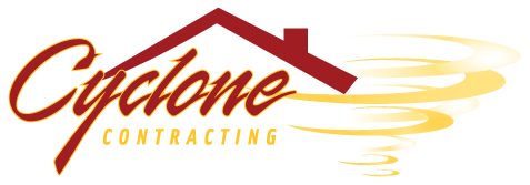 The Cyclone logo with yellow letters.