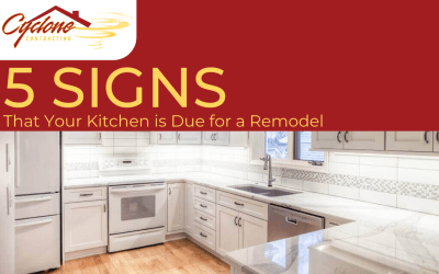 5 Signs That Your Kitchen is Due for a Remodel
