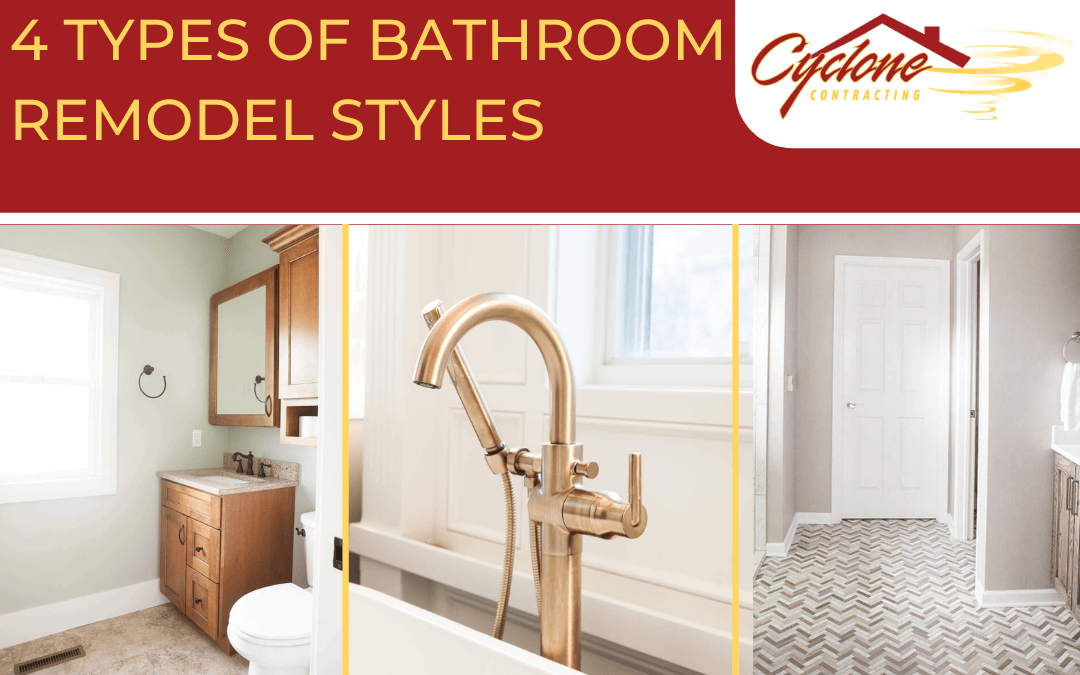 4 Types of Bathroom Remodel Styles to Consider