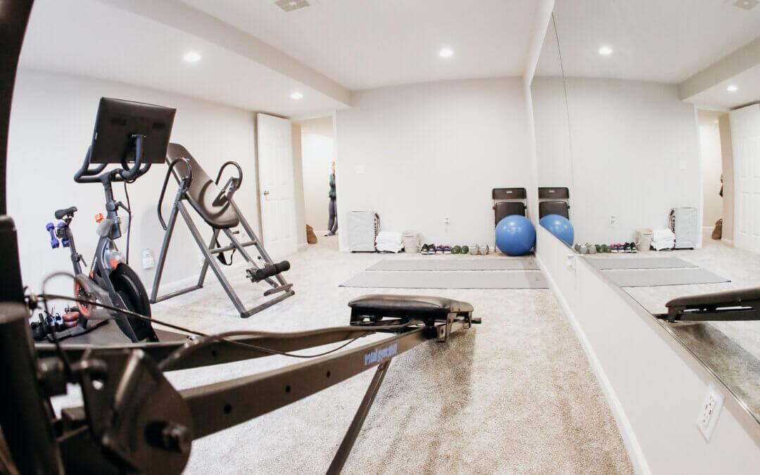 Home Gym Basement Remodel