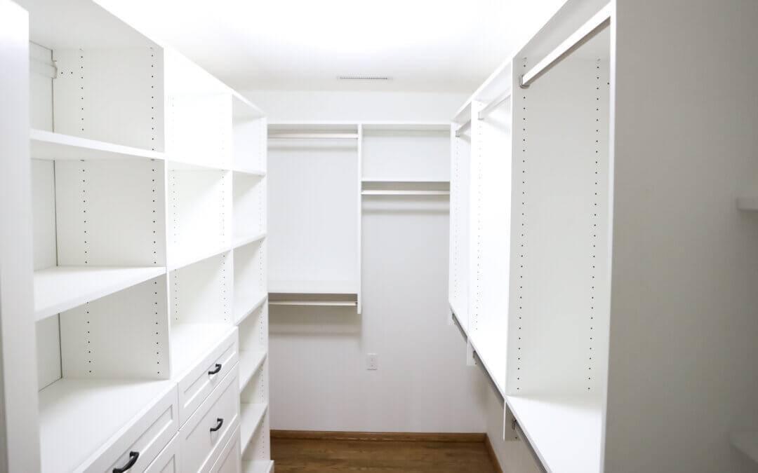 Drop Zone Closet Remodel